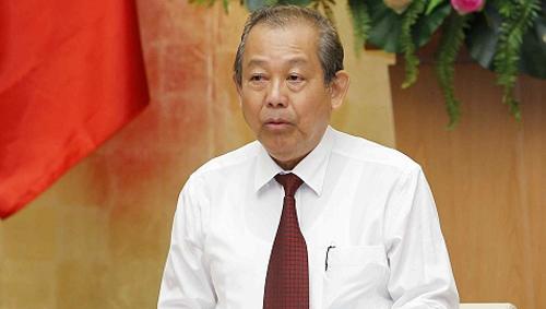 Phó Thủ tướng Trương Hoà Bình. Ảnh: VGP.