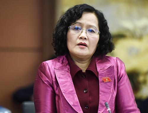 Dự Luật Hành chính công là sáng kiến lập pháp của đại biểu Quốc hội Trần Thị Quốc Khánh. Ảnh: Giang Huy.