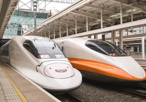 Tàu tốc độ cao ở Đài Loan theo công nghệ động lực phân tán. Ảnh minh họa.