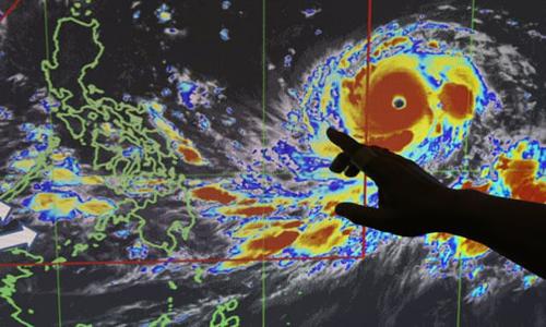 Hàng triệu người Philippines bị ảnh hưởng bởi bão Mangkhut