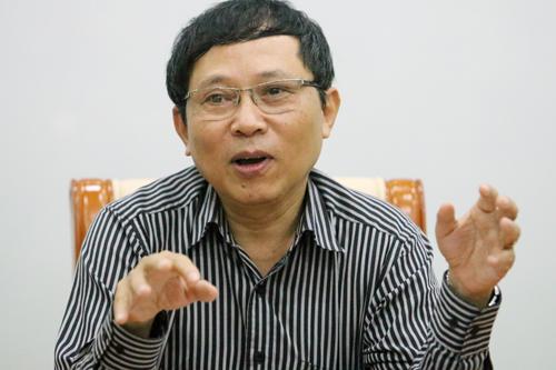 Tổng cục phó Khí tượng thuỷ văn Lê Thanh Hải. Ảnh: Võ Hải.