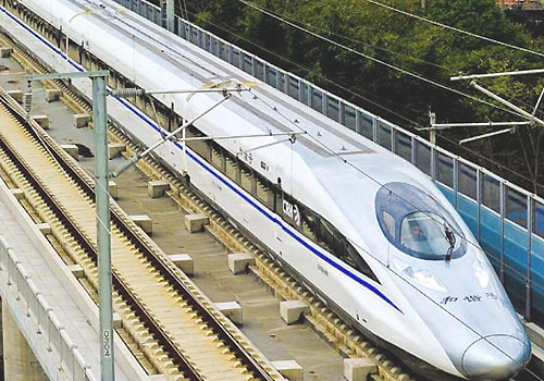 Tàu điện Shinkansen ở Nhật Bản. Ảnh minh họa.