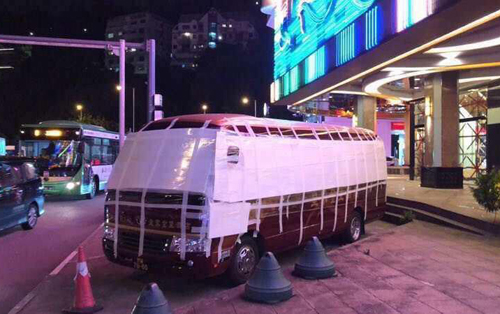 Thú chơi xe - Cách người Macau bảo vệ ô tô trước siêu bão (Hình 2).