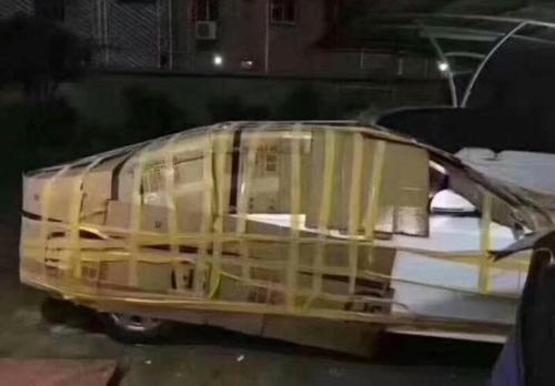 Thú chơi xe - Cách người Macau bảo vệ ô tô trước siêu bão (Hình 4).