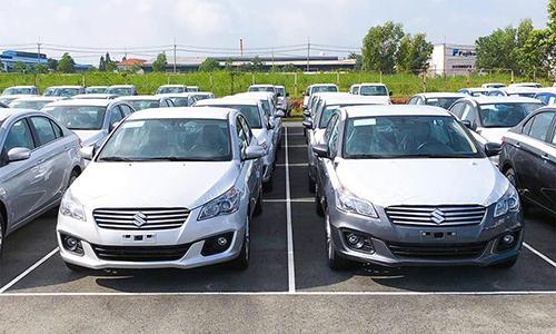 Suzuki Ciaz nhập khẩu Thái Lan về Việt Nam.