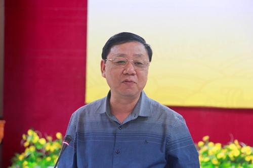 Ông Nguyễn Thế Hùng, Cục trưởng Cục Di sản Việt Nam. Ảnh: Võ Thạnh