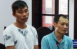 Hai người đàn ông gây rối ở Nha Trang lĩnh án