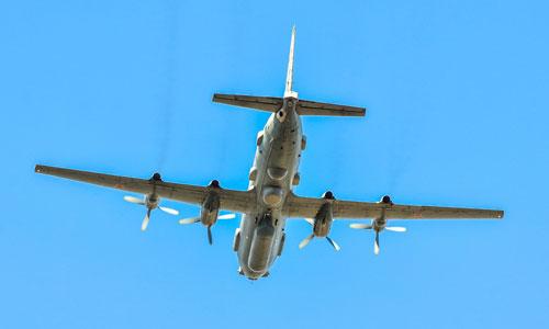 Một trinh sát cơ Il-20 của quân đội Nga. Ảnh: Reuters.