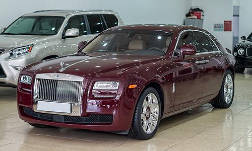 Rolls-Royce Ghost đời 2010 đi 5 năm giá gần 10,8 tỷ đồng