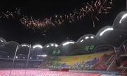 Tổng thống Hàn Quốc phát biểu trước 150.000 người Triều Tiên