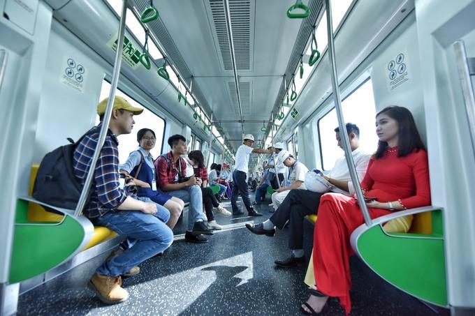 Tàu Cát Linh - Hà Đông chạy thử toàn tuyến