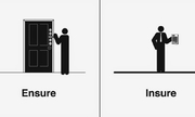 """Trắc nghiệm phân biệt """"ensure"""" và """"insure"""""""