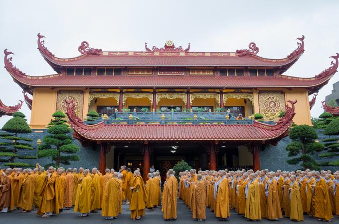 Phật tử TP HCM cầu nguyện cho Chủ tịch nước Trần Đại Quang