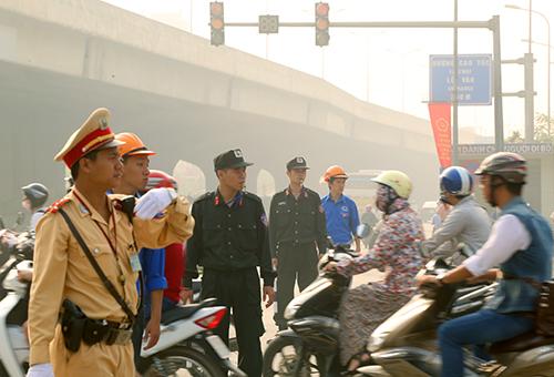 Hơn 20 tuyến đường sẽ bị hạn chế và cấm phương tiện để tổ chức lễ quốc tang cố Chủ tịch nước Trần Đại Quang. Ảnh minh họa. Phương Sơn