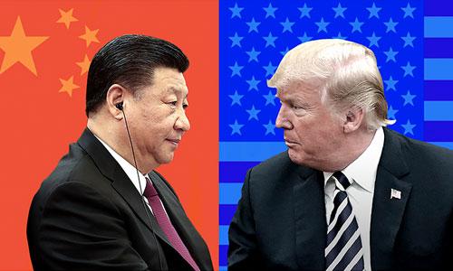 Tổng thống Mỹ Donald Trump (phải) và Chủ tịch Trung Quốc Tập Cận Bình. Ảnh: CNN.