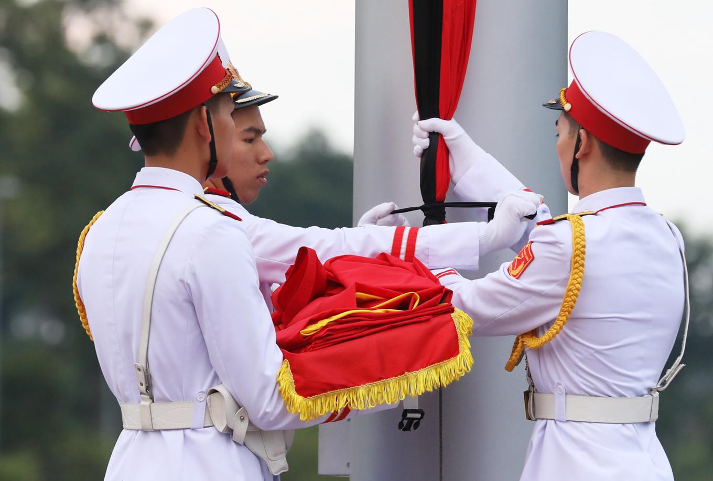 Hà Nội treo cờ rủ Quốc tang Chủ tịch nước Trần Đại Quang