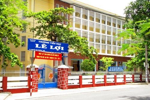 Trường tiểu học Lê Lợi. Ảnh: An Sơn