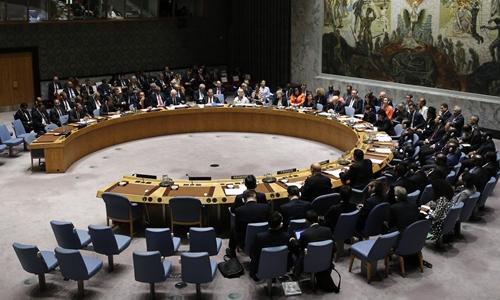 Cuộc họp của Hội đồng Bảo an Liên Hợp Quốc tại New York ngày 26/9. Ảnh: Reuters.