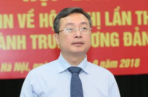 Ông Bùi Trương Giang, Phó trưởng Ban Tuyên giáo Trung ương. Ảnh:P.V