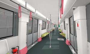 10 đoàn tàu tuyến metro số 3 Hà Nội giá 110 triệu Euro