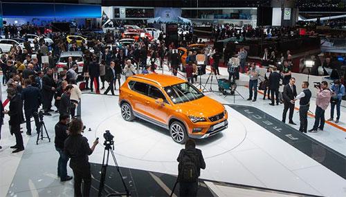 Một buổi giới thiệu xe mới tại triển lãm ôtô Paris 2016. Ảnh: Seat.