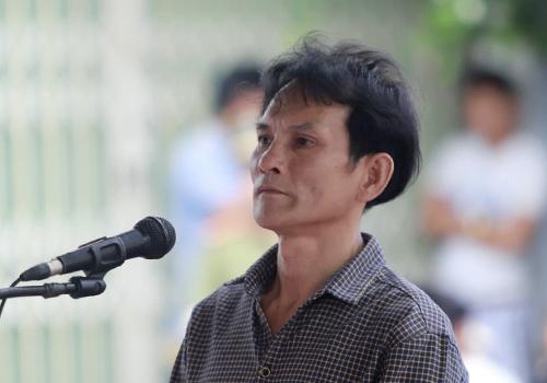 Bị cáo Dũng tại phiên toà hôm 29/9. Ảnh: Nguyễn Đông.