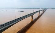 Cầu 1.400 tỷ nối Phú Thọ và Hà Nội sắp thông xe
