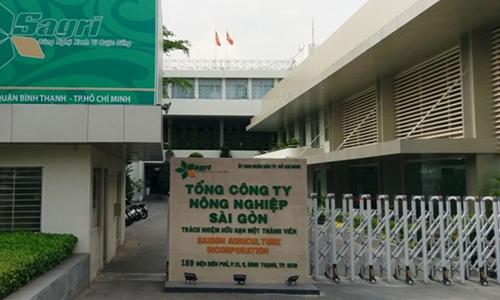 Trụ sở Tổng công ty Nông nghiệp Sài Gòn. Ảnh: Sagri