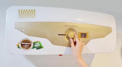 Giải pháp kháng khuẩn của Kangaroo ứng dụng cho bình nước nóng của Kangaroo vừađược cấp bằng độc quyền.