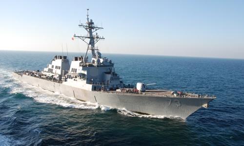 Tàu khu trục tên lửa dẫn đường USS Decatur của hải quân Mỹ. Ảnh: US Navy.