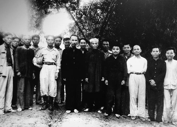 Đại tướng Võ Nguyên Giáp với chiến khu Việt Bắc