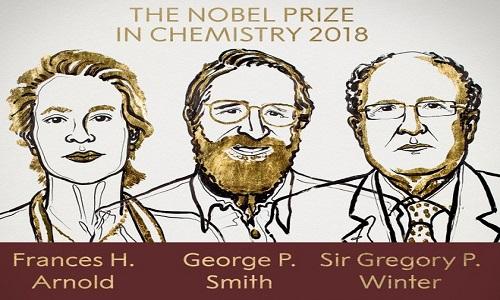 Chân dung ba nhà khoa học đoạt giải Nobel Hóa học năm nay. Ảnh: Nobel Prize.