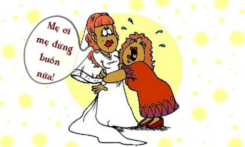 Lý do bố mẹ khóc trong đám cưới con gái