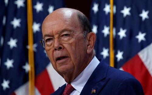 Bộ trưởng Thương mại Mỹ Wilbur Ross. Ảnh: Reuters.