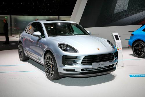 Porsche Macan 2019 phiên bản nâng cấp ra mắt tại triển lãm Paris 2018.