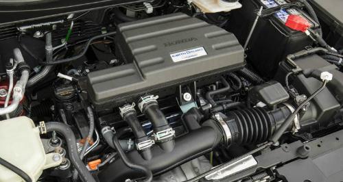Động cơ turbo 1.5 trên xe Honda CR-V. Ảnh: CR.