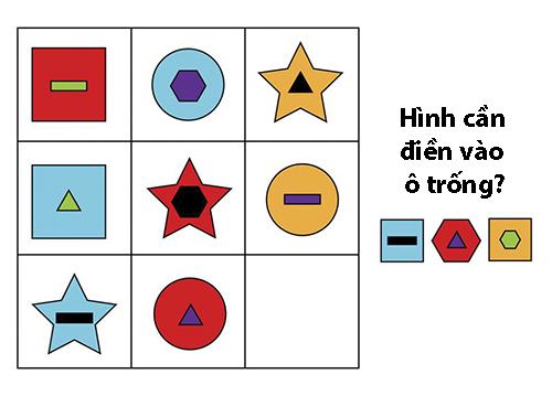 Thể dục trí não cuối tuần với những câu đố logic