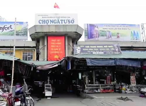 Dự án chợ Ngã Tư Sở đãđã hoàn thành thủ tục chấm dứt dự án. Ảnh: Trần Quang.