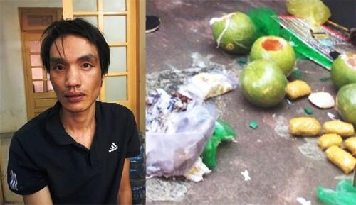 Lê Thành Kiên và số tang vật của vụ án buôn bán, vận chuyển trái phép chất ma túy liên tỉnh vừa bị Phòng cảnh sát hình sự Công an Hải Phòng triệt phá.