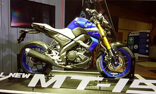 Yamaha MT-15 thế hệ mới ra mắt tại Thái Lan, giá 3.000 USD.