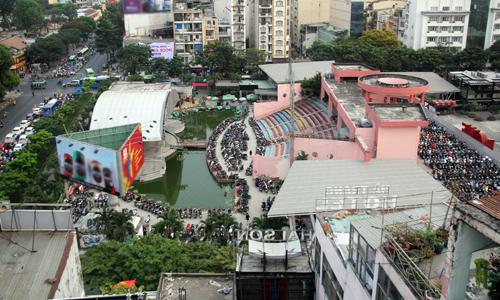 TP HCM từng có ý định xây Nhà hát Giao hưởng, Nhạc và Vũ kịch tại Công viên 23 Tháng 9. Ảnh: Duy Trần