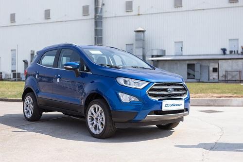 Ford EcoSport ra mắt hồi đầu năm tại nhà máy ở Hải Dương. Ảnh: Ngọc Tuấn.