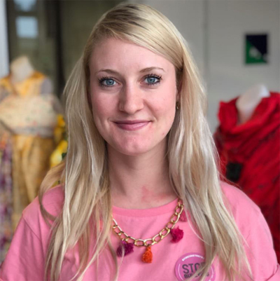 Cô Caitlin Ligo - chuyên viên tuyển sinh, Trường Nghệ thuật sáng tạo thuộc Đại học Massey, New Zealand.