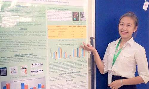 Thủ khoa tốt nghiệp sớm của Học viện Nông nghiệp Việt Nam