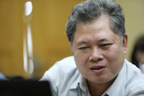 Ông Hoàng Đăng Ninh, Phó giám đốc Công ty lưới điện cao thế Hà Nội.