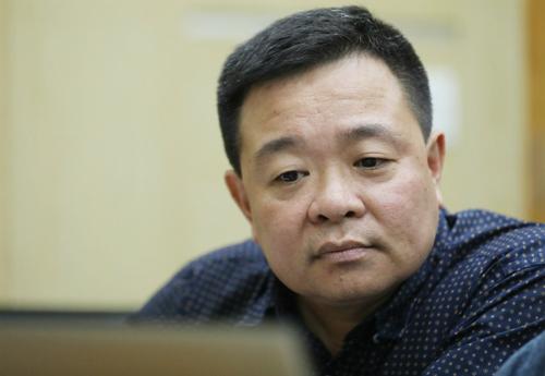 Ông Vũ Quang Huy, Phó giám đốc Công ty Điện lực Cầu Giấy.
