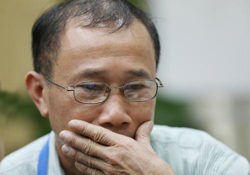 Phút suy nghĩ của ông Nguyễn Đăng Thiện.