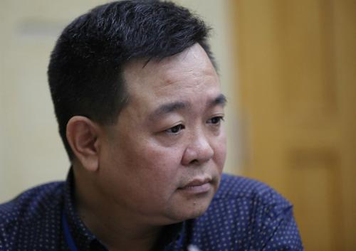 Ông Vũ Quang Huy.