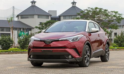 Toyota C-HR 2019được doanh nghiệp tư nhân nhập khẩu về Việt Nam. Ảnh: Lương Dũng.