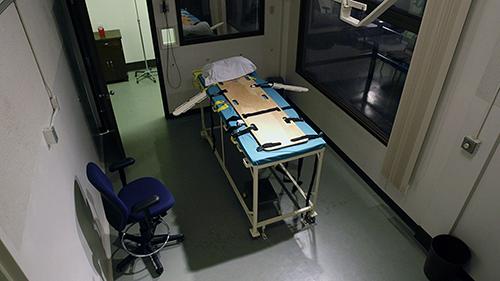 Phòng thi hành án tử tại nhà tù bang Washington. Ảnh: AP